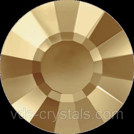 Кристаллы Swarovski холодной фиксации 2034 Golden Shadow
