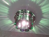 Точечный светильник Yusing 883 (G-6,35) зел, фото 1