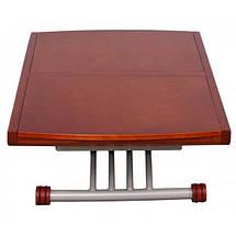 Стол-трансформер обеденно-журнальный B-2110 столешница - шпон натурального дерева, пневмомеханизм, фото 3