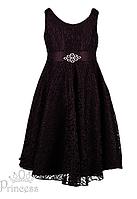 Вечернее ажурное платье для девочек ,Princess, фото 1