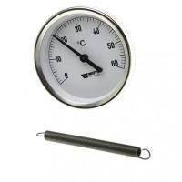 Термометр накладной CEWAL BRC 63 (Ø63 мм, 0-120°С)
