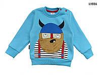 """Теплая кофта """"Викинг"""" для мальчика. Маломерная. 1 год, фото 1"""