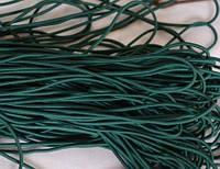 Резинка шляпная /канат зеленая 100 м. китай