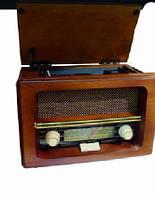 Оригинальный проигрыватель в стиле Ретро радио приемника 70-х годов