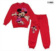 Теплый костюм Minnie Mouse для девочки. 110 см, фото 1