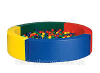 "Сухой бассейн и шарики ""Круг"""