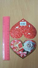 Листівка валентинка