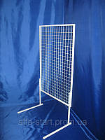 Торговая сетка в рамке 120/77см ячейка 5см на ножках