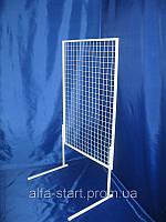 Торговая сетка в рамке 150/77см ячейка 5см на ножках