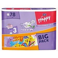 Подгузники детские Bella Baby Happy Midi 5-9 кг 72 шт