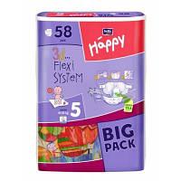 Подгузники детские Bella Baby Happy Junior 12-25 кг 58 шт