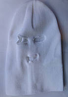 Шапка Феска (Балаклава) белая