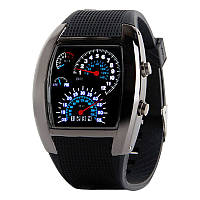 LED часы Спидометр Max Speed