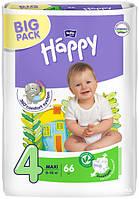 Подгузники детские Bella Baby Happy Green Tea 3D Maxi 8-18 кг 66 шт