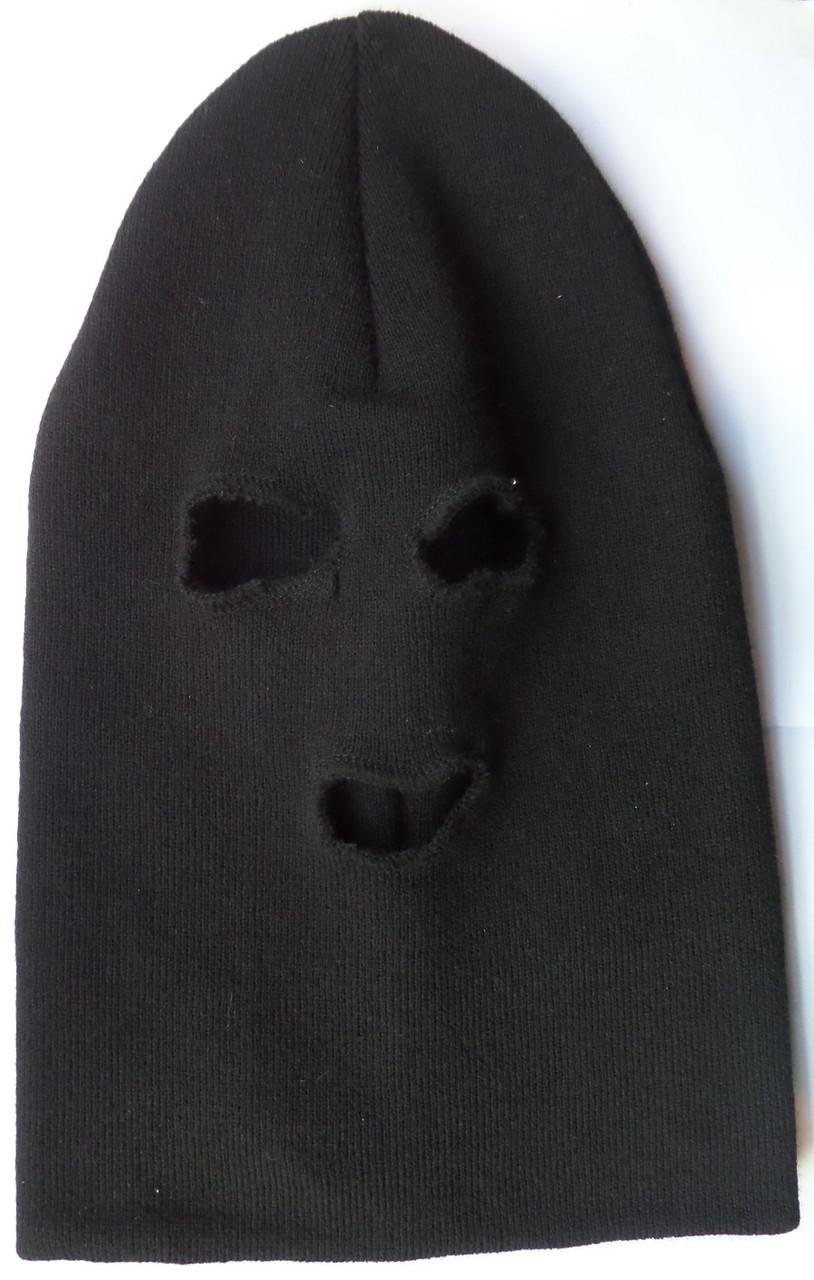 Шапка Феска (Балаклава) черная - СО2 магазин в Харькове c825d2d7c9cc8