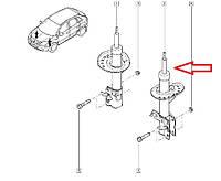 Амортизато передний левый Renault Koleos, Nissan X-Trail 4x4 и 4x2. Оригинал E4303-3UB0B