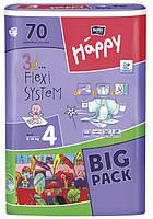 Подгузники детские Bella Baby Happy Maxi 8-18 кг 70 шт