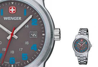 Набор Wenger часы и армейский нож купить подарок мужчине