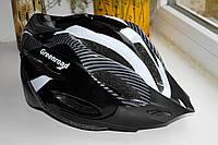 Шлем велосипедный Carbon grey