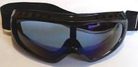 Очки защитные зеркальные с поролоном, фото 1