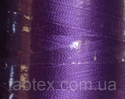 Нитка шелк для машинной вышивки embroidery 120den. №112 3000 ярд