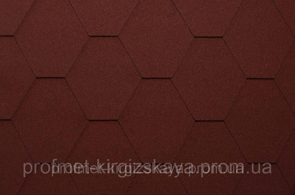 Битумная черепица KATEPAL Classic KL Красный