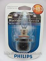 Лампы головного света HB3 Philips Blue Vision. Галогенная автолампа
