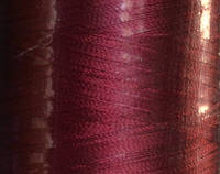 Нитка шелк для машинной вышивки embroidery 120den. №407 3000 ярд