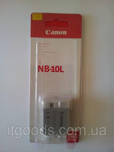 Аккумулятор Сanon NB-10L для PowerShot SX40 HS | PowerShot G1 X