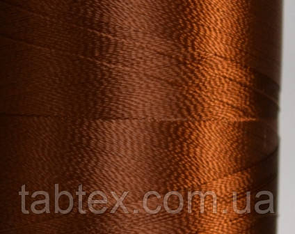 Нитка шелк для машинной вышивки embroidery 120den. №2715 3000 ярд