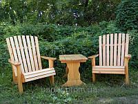 Кресла деревянные для отдыха 750*510