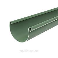 Водосточная система. Желоб водосточный Bryza 125 мм пластиковый длина 3м