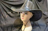 """Шляпа """"Ковбой"""" (ковбойская шляпа) кожа"""