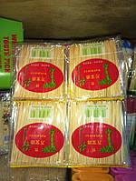 Зубочистки бамбуковые тонкие (запaска) уп  20 пакетиков