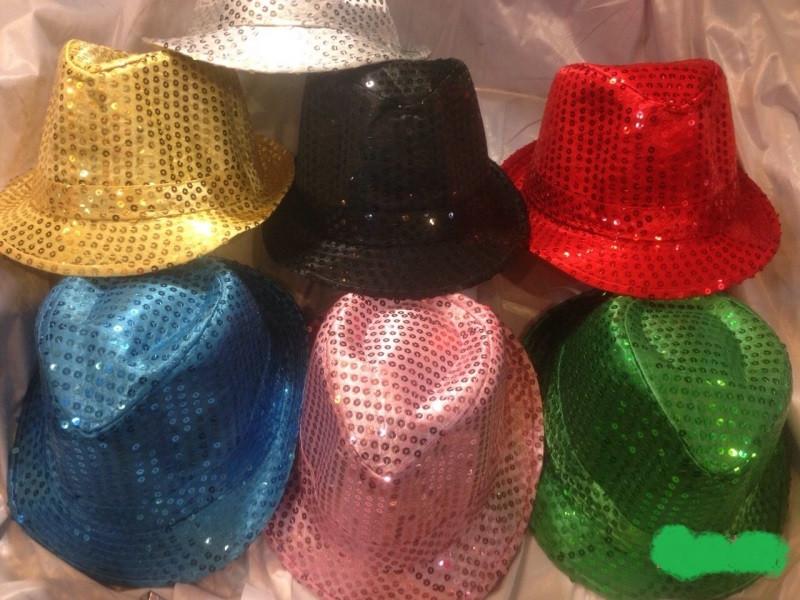 Шляпа Твист с пайетками карнавальная (от 12 шт) - Мелочи жизни  в Одесской области