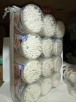 Ушные палочки пластиковые уп 12 по 100 шт