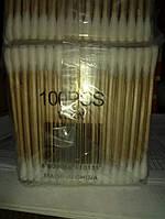 Ушные палочки деревянные уп 20 по 100 шт