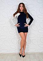 Женское платье велюр Glamour