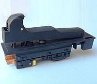 Кнопка включения УШМ болгарки Makita 9020, Craft 2500 W 230, Фиолент 2300 и др. аналогам этой модели (4 контакта)