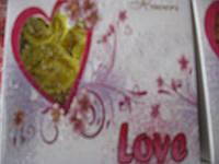 """Мыло """"Лепестки роз"""" Love, фото 1"""