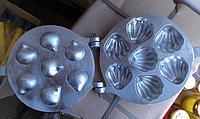 Форма для приготовления печенюшек Ракушки