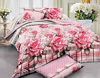 Комплект постельного белья из ранфорса Чайная роза
