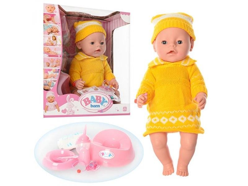 Кукла пупс Baby Born BL009B-S-UA (украинская коробка)