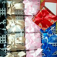 Подарочная коробочка, кубик, 5х5х3см