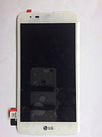 Дисплей+Сенсор LG K7 MS330 Белый