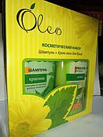 Набор косметический Oleo шампунь и гель душ