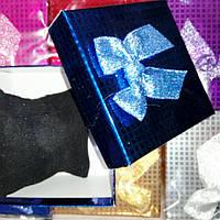 Подарочная коробочка,блестящая,8.5х8.5х5.5см.