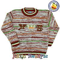 Вязанный свитер для мальчика Возраст: 5-6 и 7-8 лет (4896)