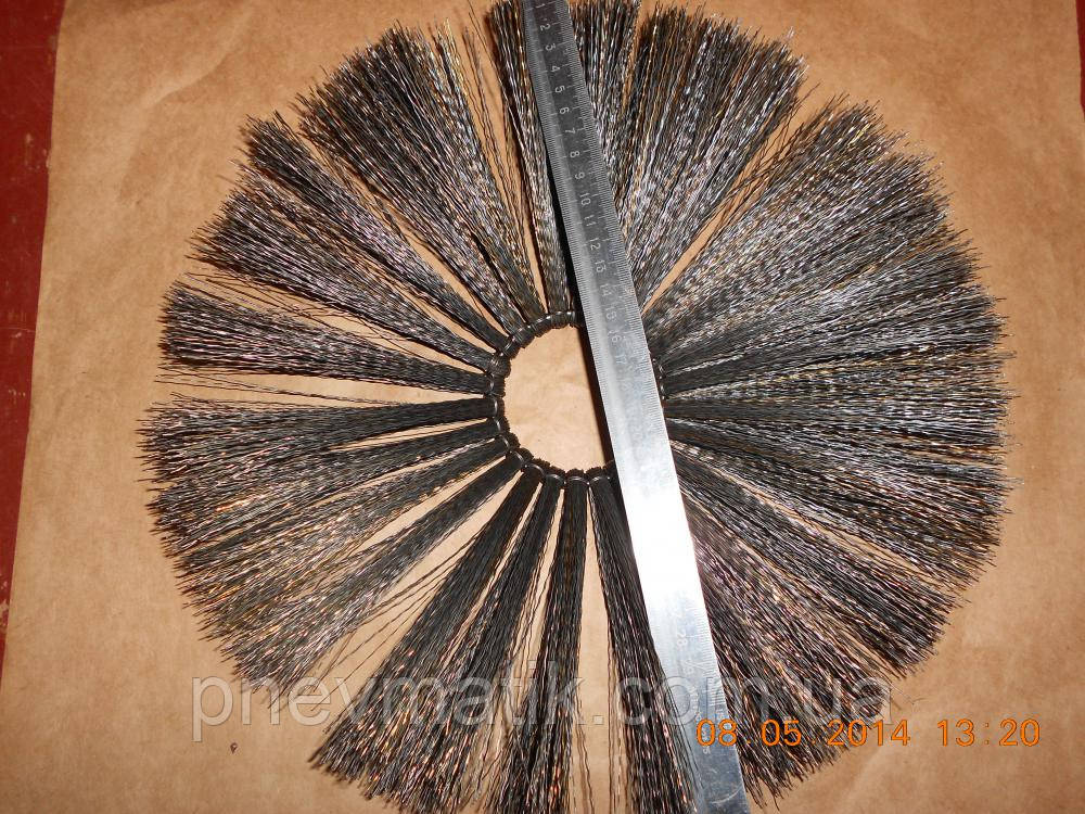 Щетка фланцевая металлическая дисковая проволочная   Ссср