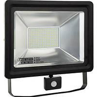 Прожектор светодиодный LED 100 Вт с датчиком движения HOROZ PUMA/S-10
